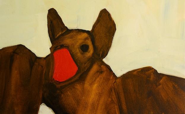 Bat By Austin Mcquinn As Part Of Vesper Exhibition At Triskel Arts Centre