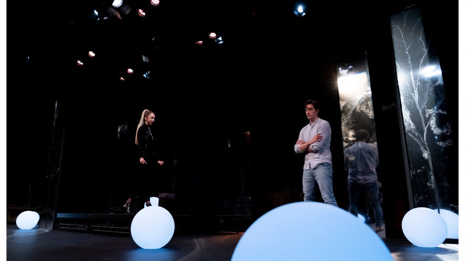 Students Performing On Stage At The Gaiety School Of Acting