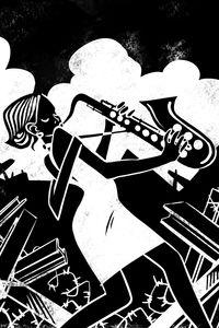 Portrait 02 Zandra Queen Of Jazz Eugene Korolkov 200 X 300